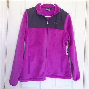 NWOT FILA Sport Fuzzy Jacket
